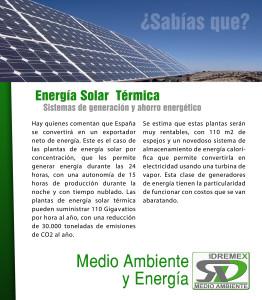 Medio ambiente y energia