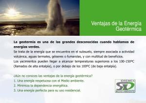 ventajas energia geotermica